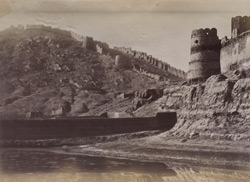Part of Wall, Upper Bala Hissar, [Kabul].
